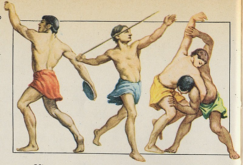 allenamento nella storia